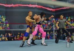 wwe elite bob backlund figure review - grabbing bret hart's arm