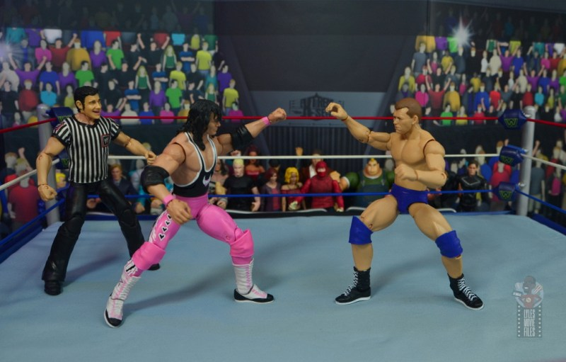 wwe elite bob backlund figure review - grappling bret hart