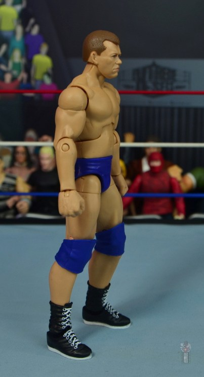 wwe elite bob backlund figure review - right side