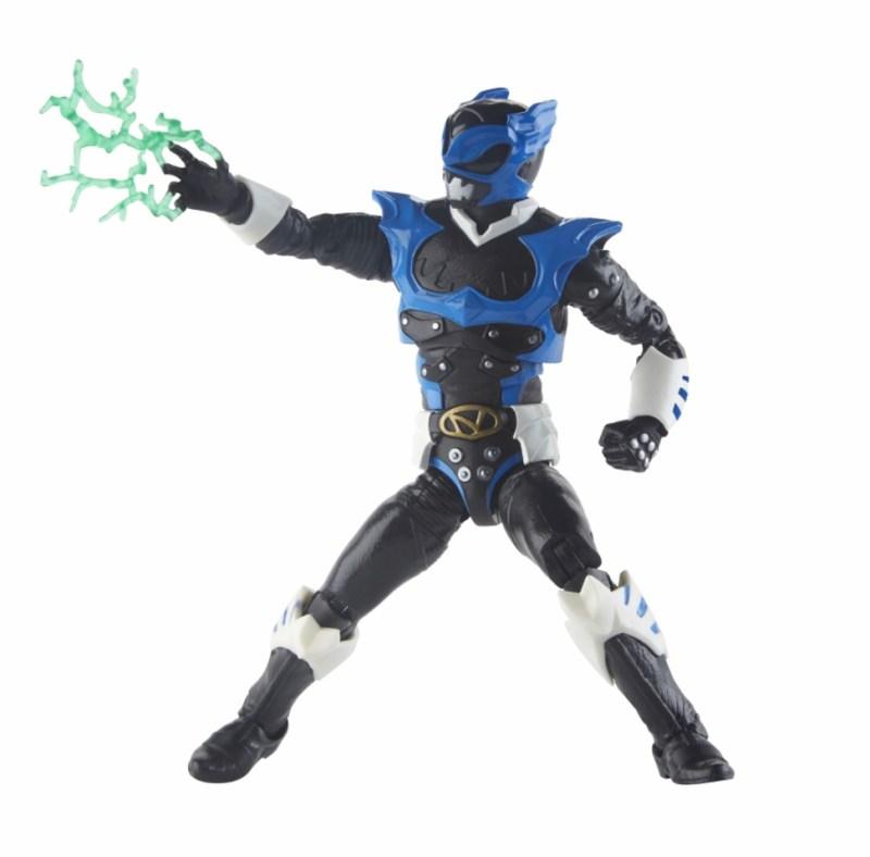 power rangers lightning collection space psycho blue ranger figure - Lightning blast