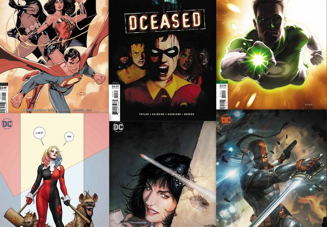 dc comics reviews 8/7/19