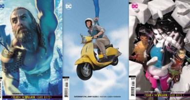 dc comics 8/21/19