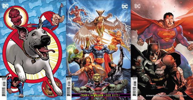 dc comics 8/28/19