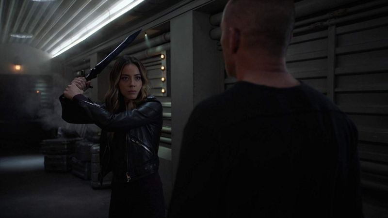 agents of shield from the ashes - daisy and sarge
