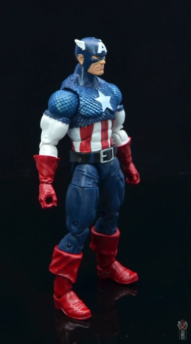 marvel legends captain america figure review 80th anniversary - right side