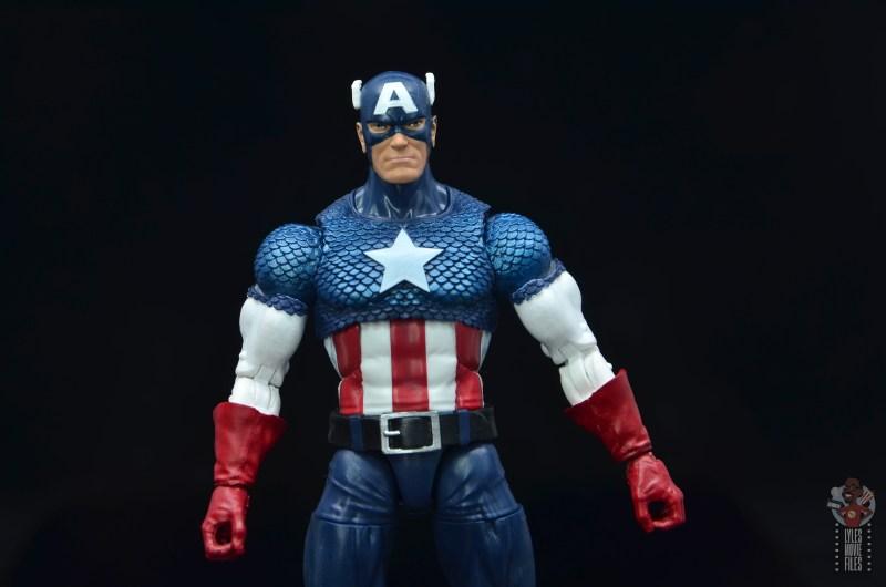 marvel legends captain america figure review 80th anniversary - wide shot