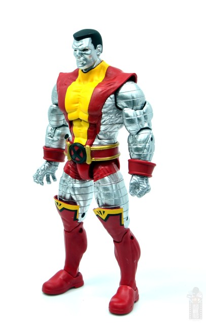 marvel legends colossus and juggernaut figure review 80th anniversary - colossus left side