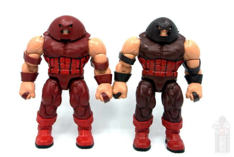 marvel legends colossus and juggernaut figure review 80th anniversary - juggernaut with baf juggernaut
