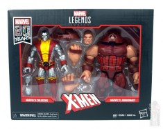 marvel legends colossus and juggernaut figure review 80th anniversary - package front