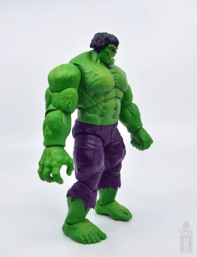marvel legends hulk vs wolveringe figure review 80th anniversary - hulk right side