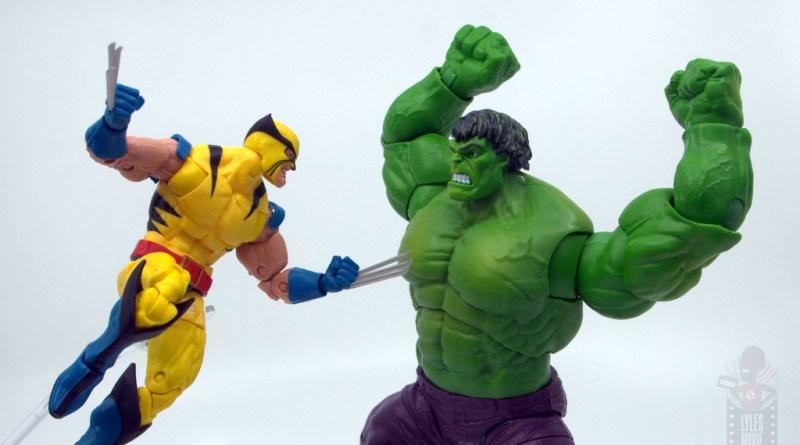 marvel legends hulk vs wolveringe figure review 80th anniversary - main pic