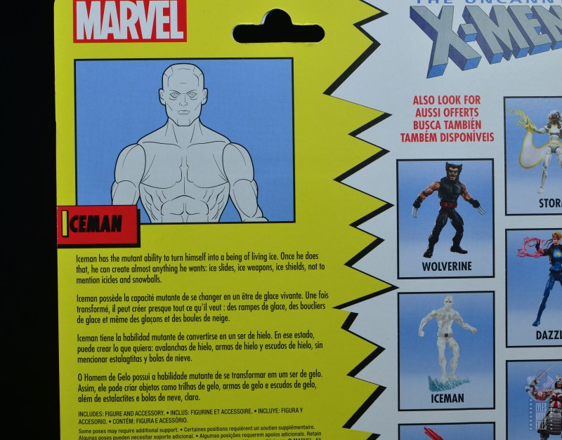 marvel legends iceman figure review - bio