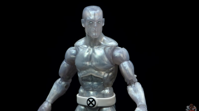 marvel legends iceman figure review - main pic