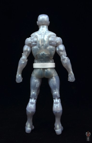 marvel legends iceman figure review - rear