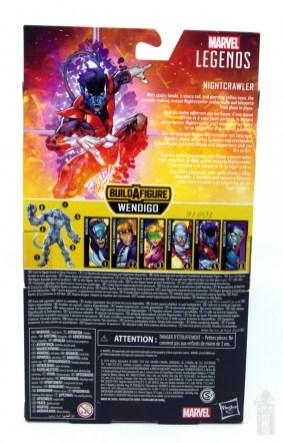 marvel legends nightcrawler figure review package rear