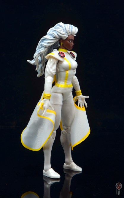 marvel legends storm figure review - right side
