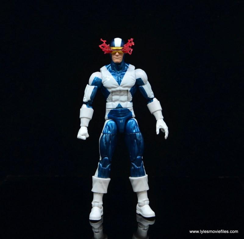 marvel legends x-factor cyclops figure review - wide