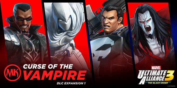 marvel ultimate alliance 3 dlc curse of the vampire