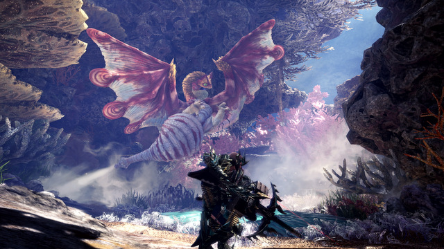 monster hunter world iceborne - Coral_Pukei-Pukei