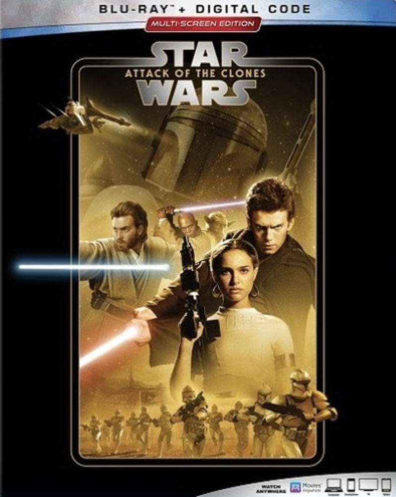 Check Out The New Covers For The Updated Star Wars Saga Blu Ray Releases Lyles Movie Files