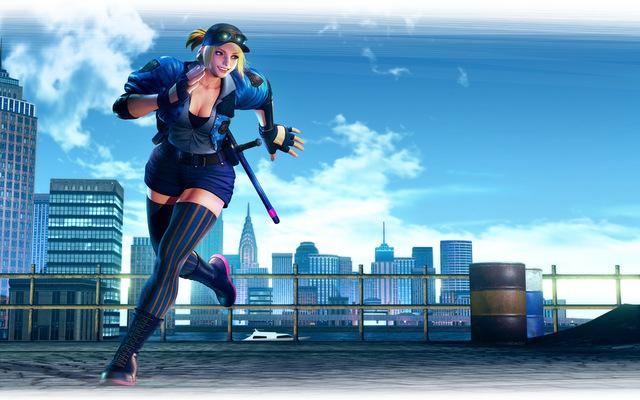 street fighter v arcade edition - Lucia_KeyArt