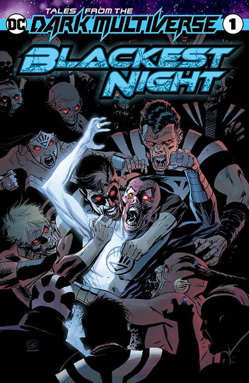 tales from the dark multiverse - blackest night #1