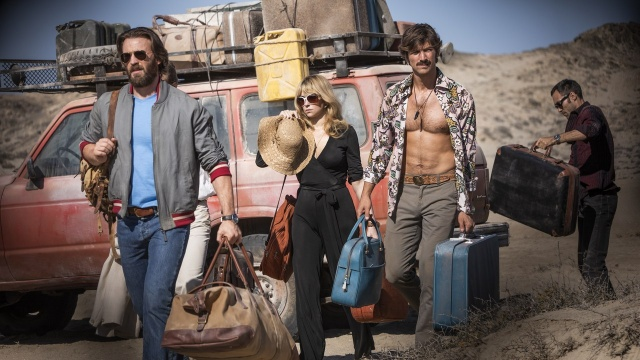 the red sea diving resort movie review - chris evans, hayley bennett, michiel huisman and alex hassell