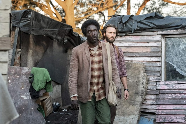 the red sea diving resort movie review - michael kenneth williams and chris evans