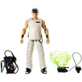wwe ghostbusters shawn michaels figure - all accesories