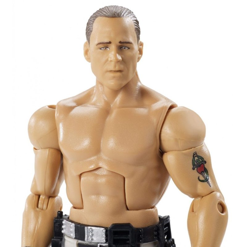 wwe ghostbusters shawn michaels figure - close up