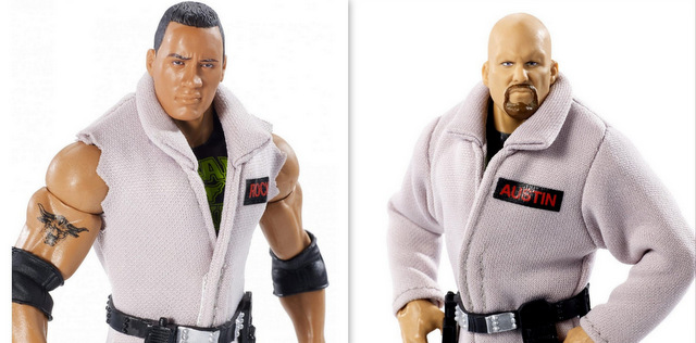 wwe ghostbusters the rock and stone cold steve austin