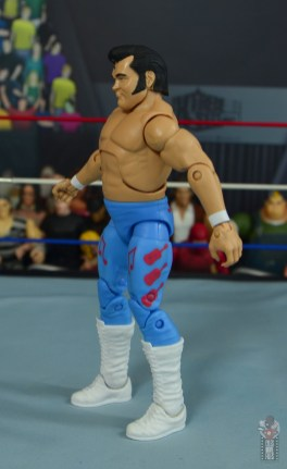 wwe retrofest honky tonk man figure review - left side