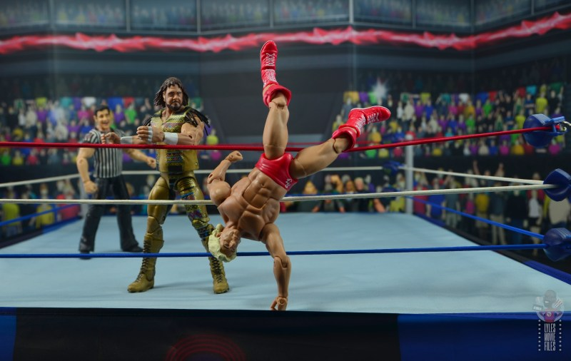 wwe retrofest ric flair figure review - wrestlemania 8 vs randy savage