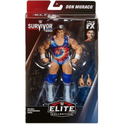 wwe survivor series elite don muraco figure - package