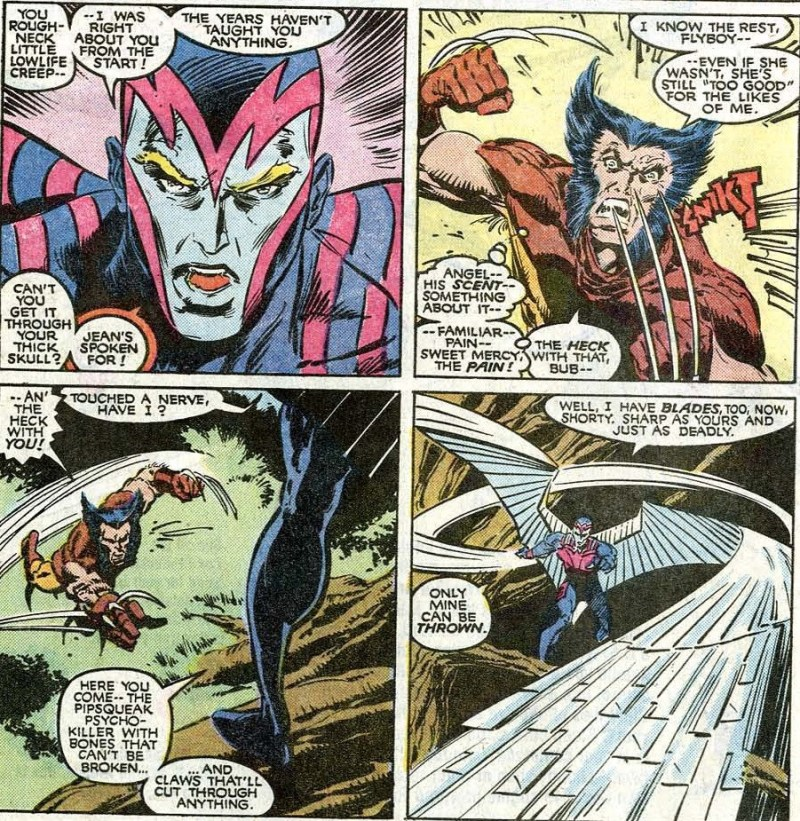x-men inferno archangel vs wolverine