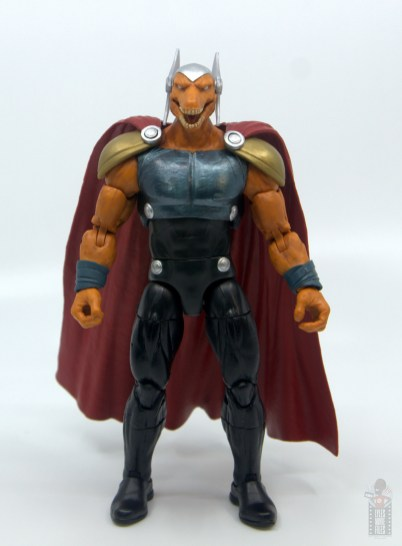 Marvel Legends Beta Ray Bill figure review - front