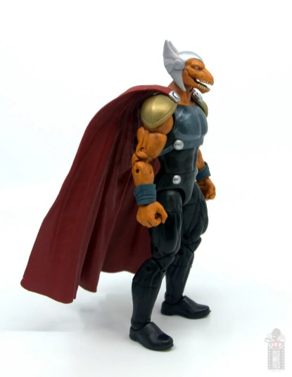 Marvel Legends Beta Ray Bill figure review - right side
