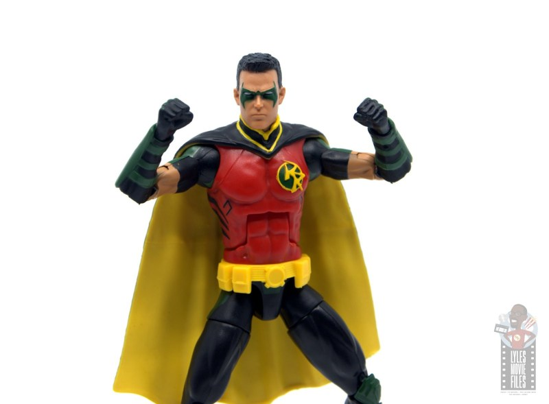 dc multiverse red robin figure review - fists up