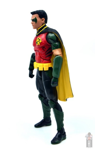 dc multiverse red robin figure review - left side