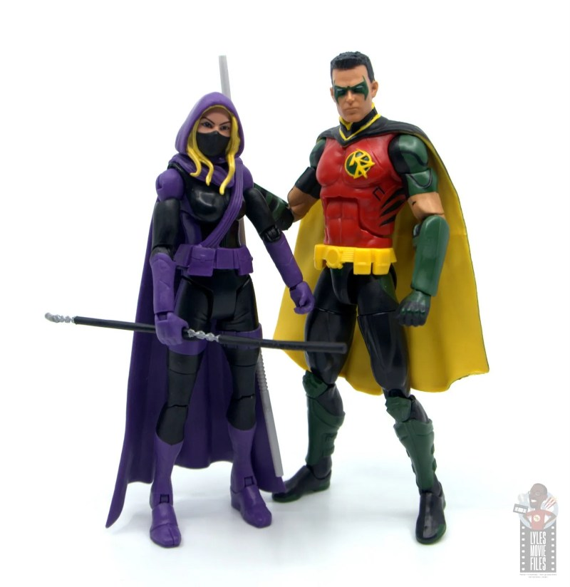 dc multiverse red robin figure review -with spoiler