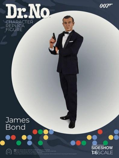 dr no james bond figure - iconic pose