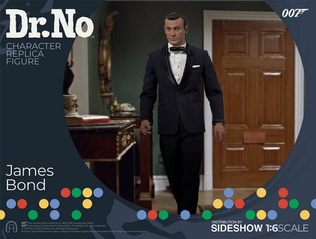 dr no james bond figure - walking in room