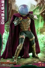 hot toys spider-man far from home mysterio figure - summoning power
