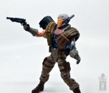marvel legends cable figure review - aiming pistol