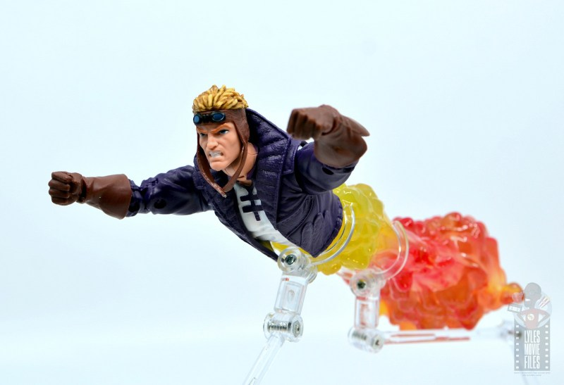marvel legends cannonball figure review - blasting away
