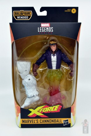 marvel legends cannonball figure review - package front