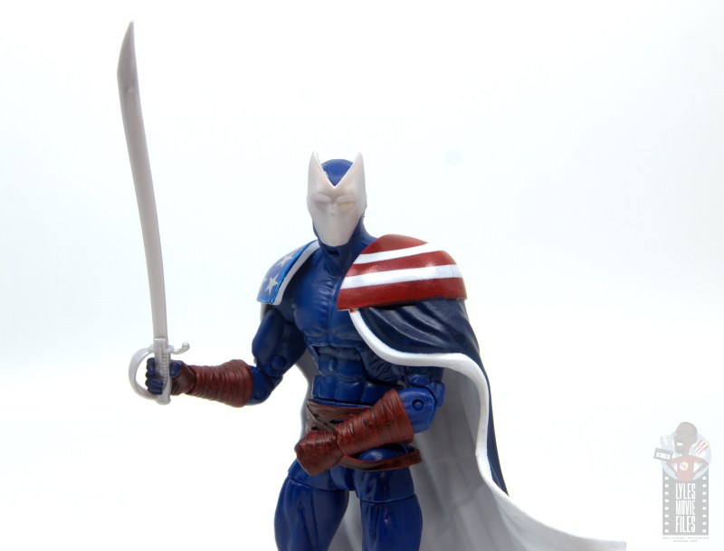 marvel legends citizen v figure review - main pic