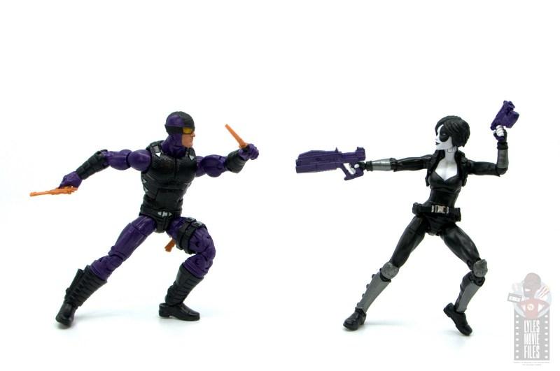 marvel legends paladin figure review - vs. domino