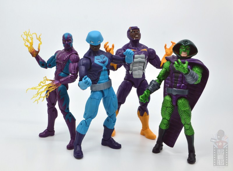 marvel legends rock python figure review - with serpent society