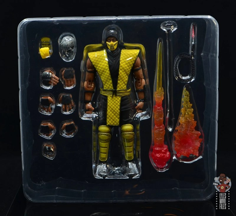 storm collectibles scorpion figure review - accessories